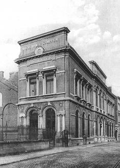 Rénovation et extension des anciens bureaux de la Brasserie Wielemans-Ceuppens à Forest (Bruxelles)