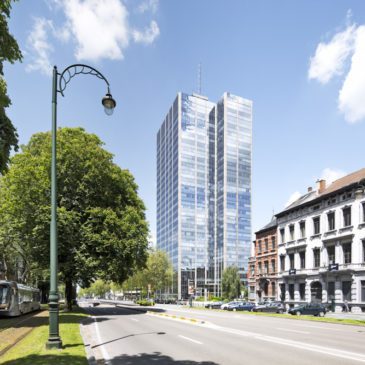 Blue Tower – Ixelles (Bruxelles)